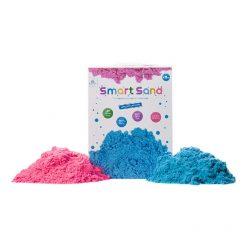 """חול קינטי 2 ק""""ג צבעוני (כחול / ורוד)"""