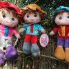 בובות רכות עם תלתלים 40 סמ